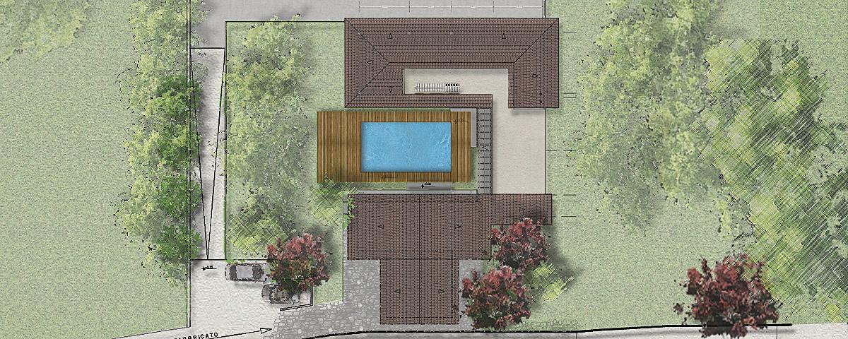 Progetto ampliamento villa con piscina gg progetti - Progetto villa con piscina ...