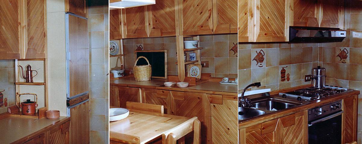 Ristrutturazione e mobili su misura per appartamento