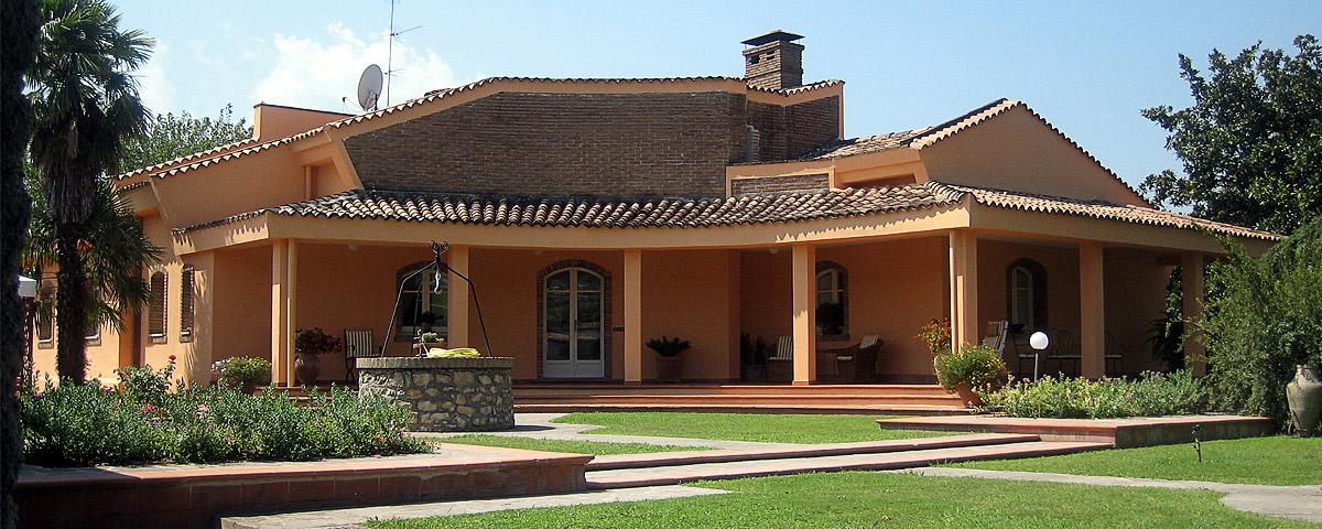 Progettazione villa appia antica gg progetti - Progetto villa con piscina ...
