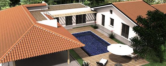 Progetto ampliamento villa con piscina gg progetti for Progetto piano terra