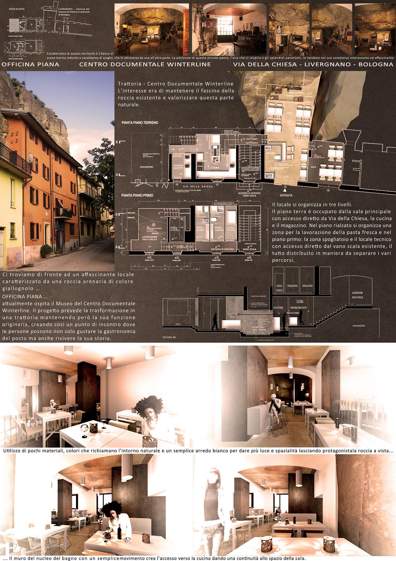 Progettazione Ristorante - Bologna - GG progetti