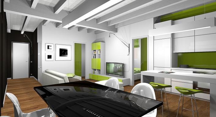 Progetti di architettura ingegneria gg progetti - Progettazione spazi interni ...