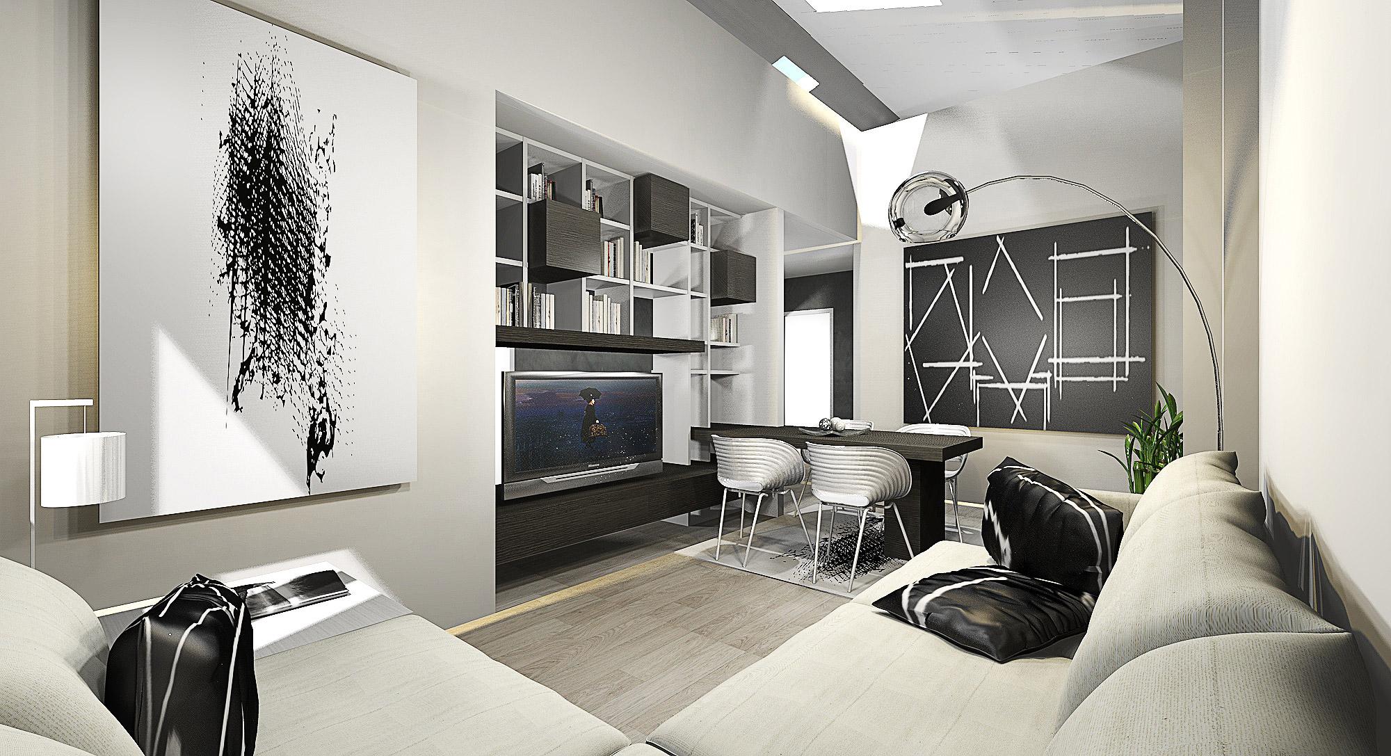 progettazione interni ristrutturazioni mobili su