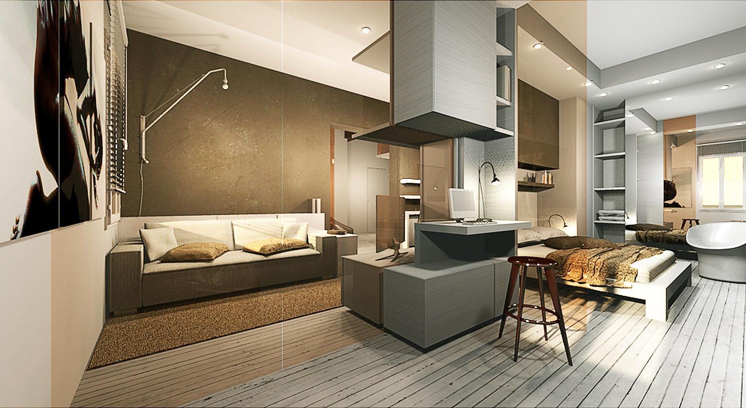 Ristrutturazione appartamento medicina gg progetti for Studio in camera da letto