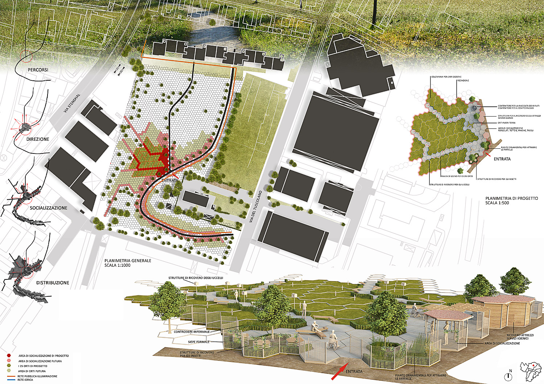 Concorso orti per tutti bologna gg progetti - Tavole di concorso architettura ...