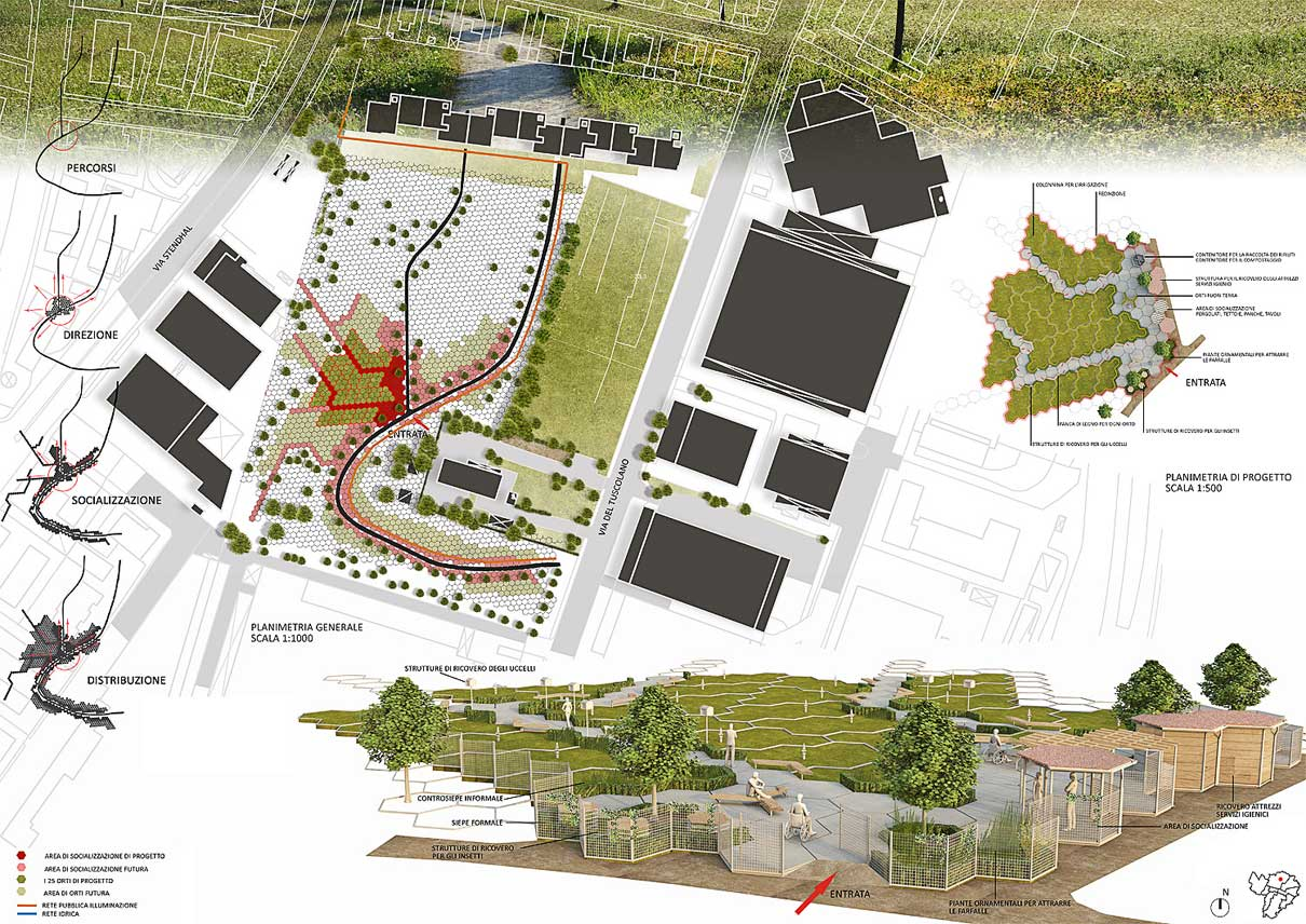 Concorso orti per tutti bologna gg progetti for Progettazione di idee di scantinato