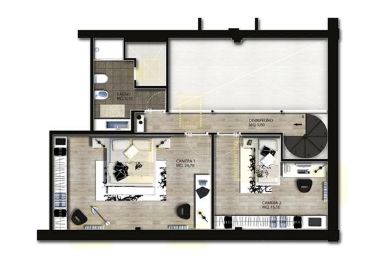 Arredi interni dwg ispirazione design casa for Progetti interni di case