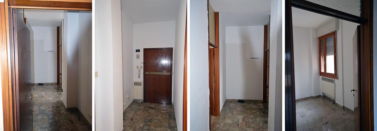 Distribuzione Spazi Interni Casa.Ristrutturazione Casa San Lazzaro Bologna Gg Progetti