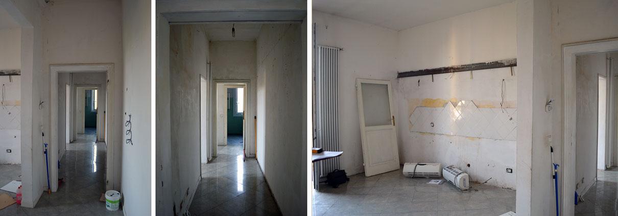 Distribuzione Spazi Interni Casa.Ristrutturazione Casa Bologna Pelagio Palagi Gg Progetti
