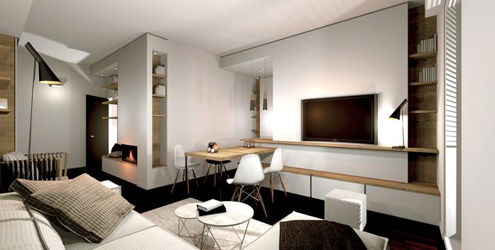 Ristrutturazione interni casa Bologna